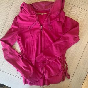 Juicy Couture classic velour jacket size small